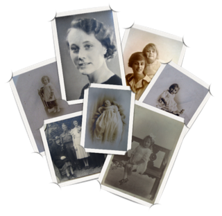Ancestories photo collage